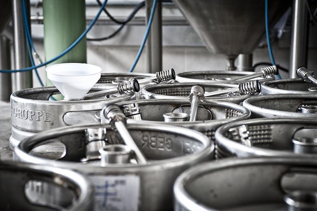 Birrificio-Orzobruno, Produzione-birra-Artigianale, Fusti