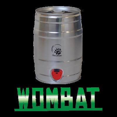 Barilotto-da-5-litri, Wombat, IPA, Orzo-Bruno